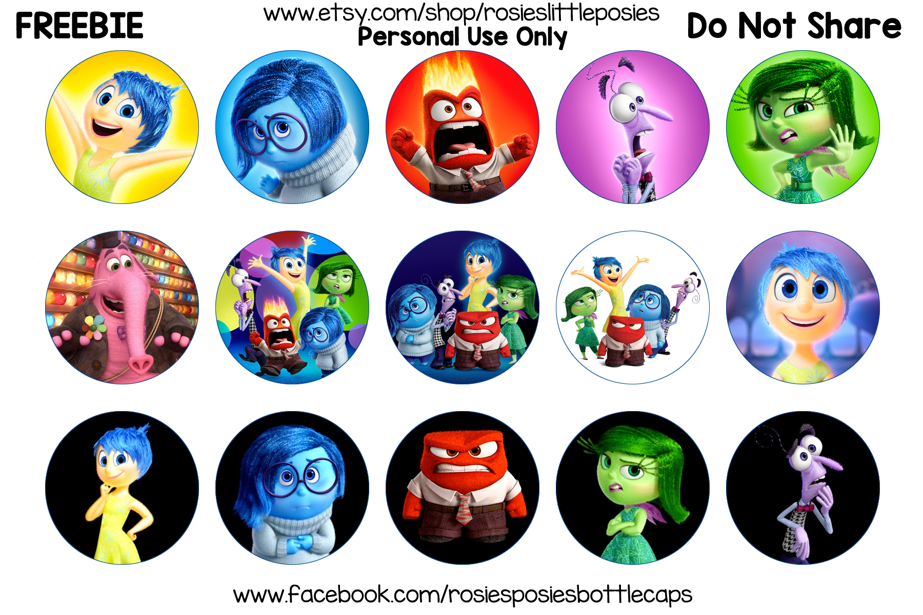 Clipart animated character icon inside out graphic library stock Inside Out Movie – rosieslittleposies graphic library stock