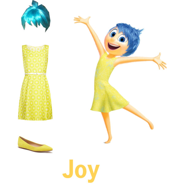 Clipart animated character icon inside out picture freeuse Joy from Inside Out - Polyvore picture freeuse
