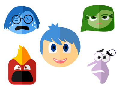 Clipart animated character icon inside out picture Inside Out Character Icons by Megan Michaelis - Dribbble picture