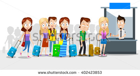 Clipart animations of a career bank of people