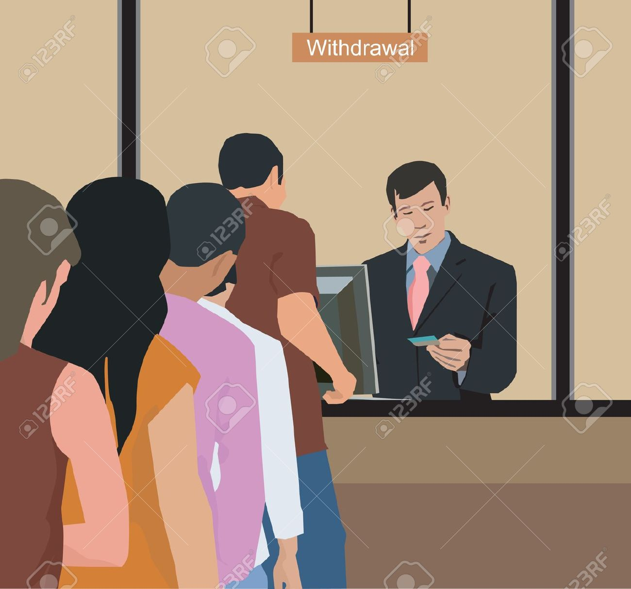 Clipart animations of bank of people jpg library download Clipart animations of bank of people - ClipartFest jpg library download