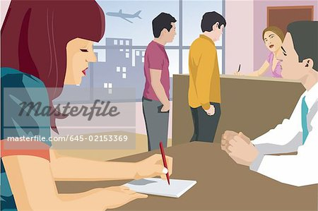 Clipart animations of bank of people picture black and white download Clipart animations of bank of people - ClipartFest picture black and white download
