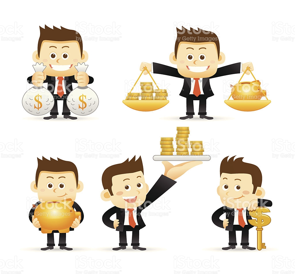 Clipart animations of bank of people clip art royalty free library Animated Images Of A Man In A Suit Holding Money stock vector art ... clip art royalty free library