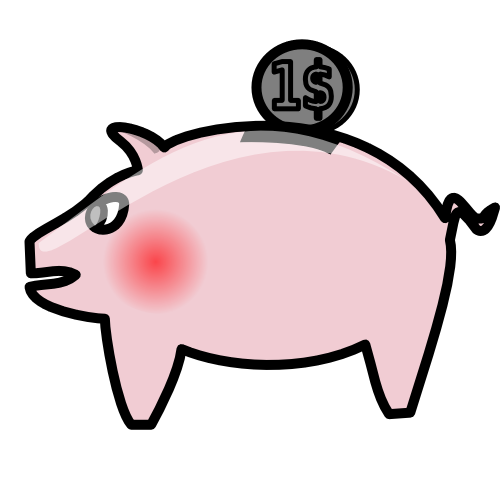Clipart animations of bank of people png black and white library Picture Of Piggy Bank | Free Download Clip Art | Free Clip Art ... png black and white library
