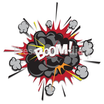 Clipart annimated explosion jpg transparent stock Explosion Puff Boom - Presentation Clipart - Great Clipart for ... jpg transparent stock