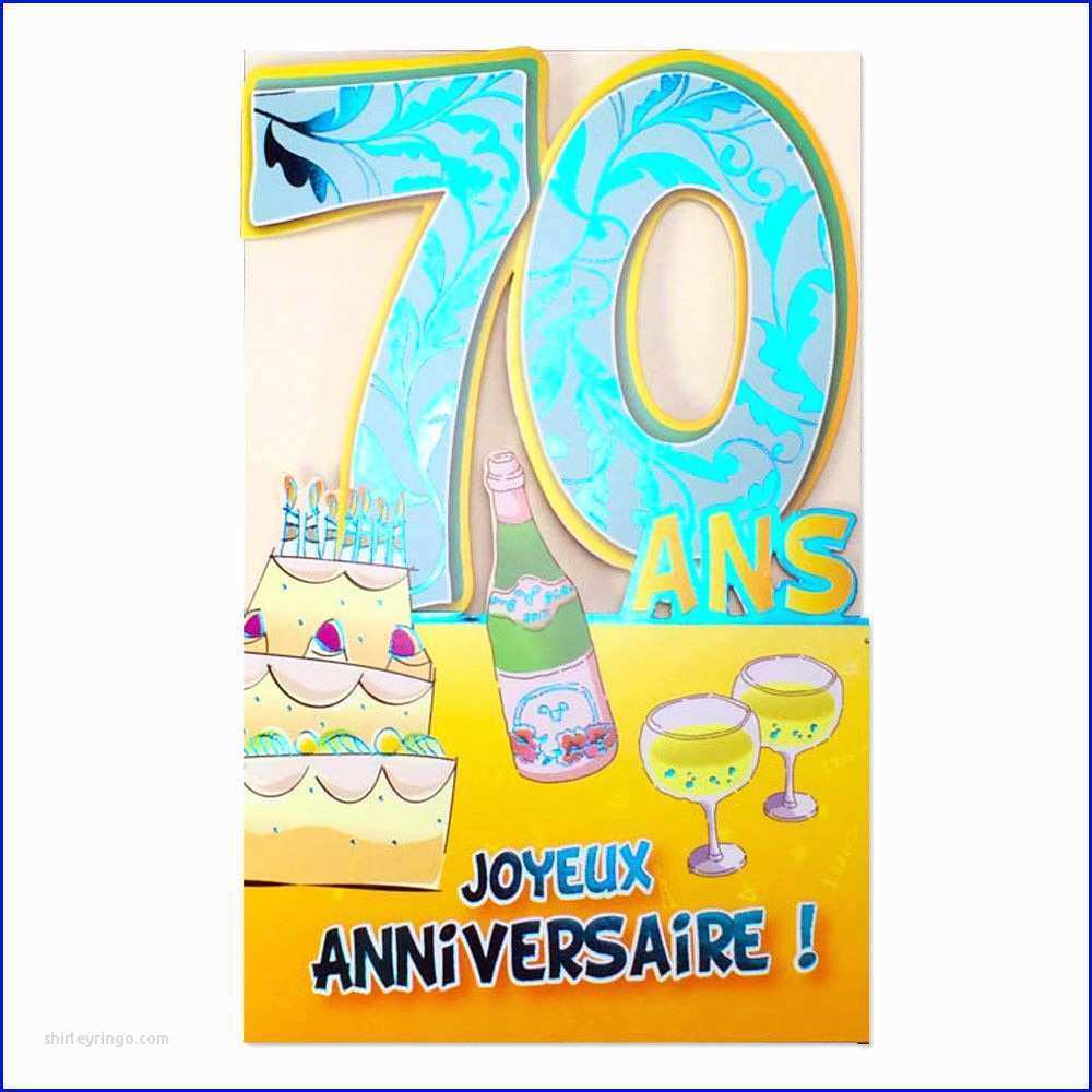 carte d anniversaire 70 ans Library of clipart library download anniversaire 70 ans png files