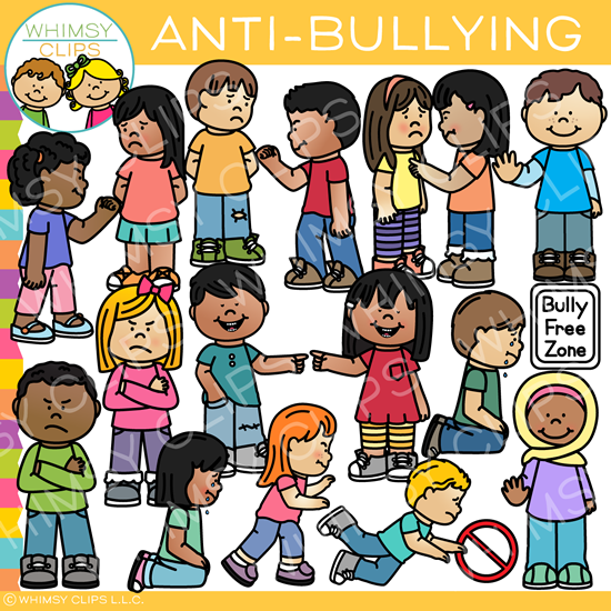 Clipart anti bullying clip royalty free Kids Anti-Bullying Clip Art clip royalty free