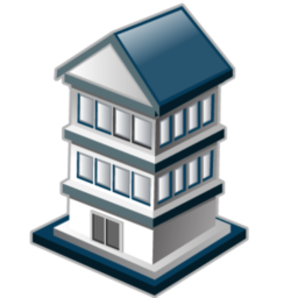 Clipart apartment house library Apartment Icon | Free Images at Clker.com - vector clip art online ... library