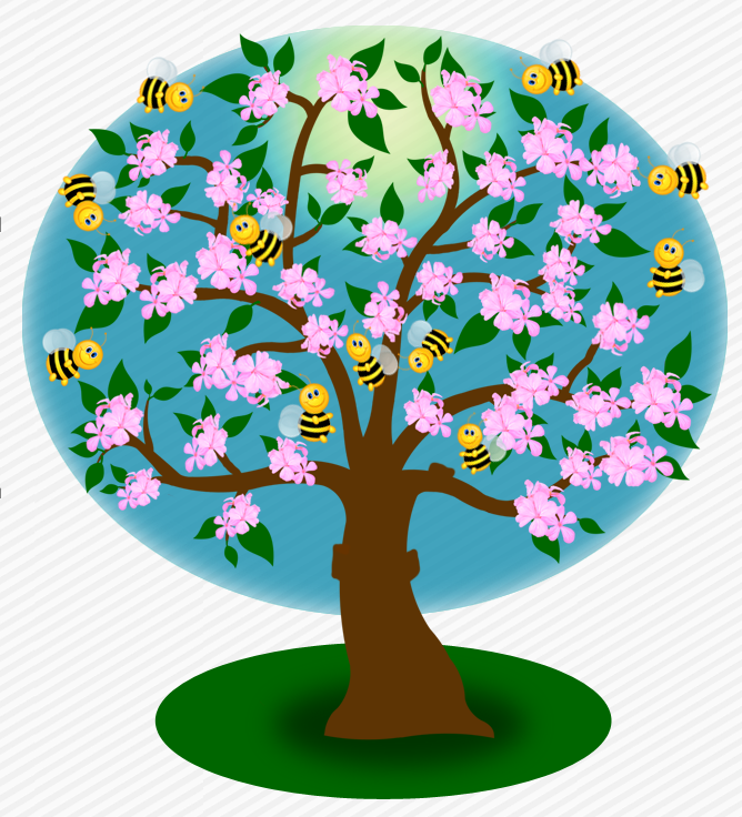 Clipart apfelbaum kostenlos. Cliparts apfelbaumbluetenbienen apfelbaumgelbeaepfel