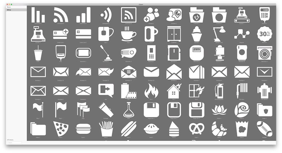 Clipart app for mac clipart free download Clipart Collection for iWork, iWeb, iBooks Author and other ... clipart free download