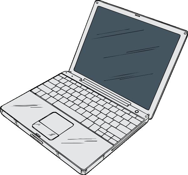Clipart apple mac svg freeuse download Powerbook Clip Art at Clker.com - vector clip art online, royalty ... svg freeuse download