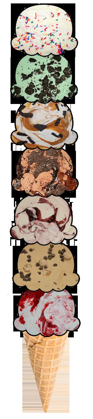 Clipart apple pie double crust and ice cream transparent Bert and Rockys Ice Cream - Our Ice Cream transparent