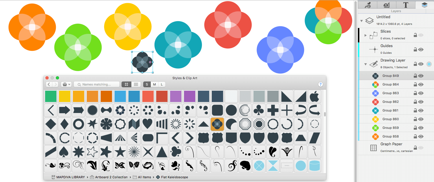 Free clipart for mac users banner royalty free library Creative Drawing App for MacOS • Artboard | Mapdiva banner royalty free library