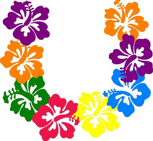 Hibiscus clip art at. Clipart april flowers