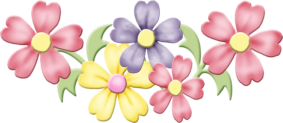 Flower clipart pastel picture free SPRING FLOWERS CLIP ART | flower | Pinterest | Spring flowers, Clip ... picture free