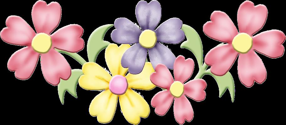 Clipart april flowers. Spring clip art flower