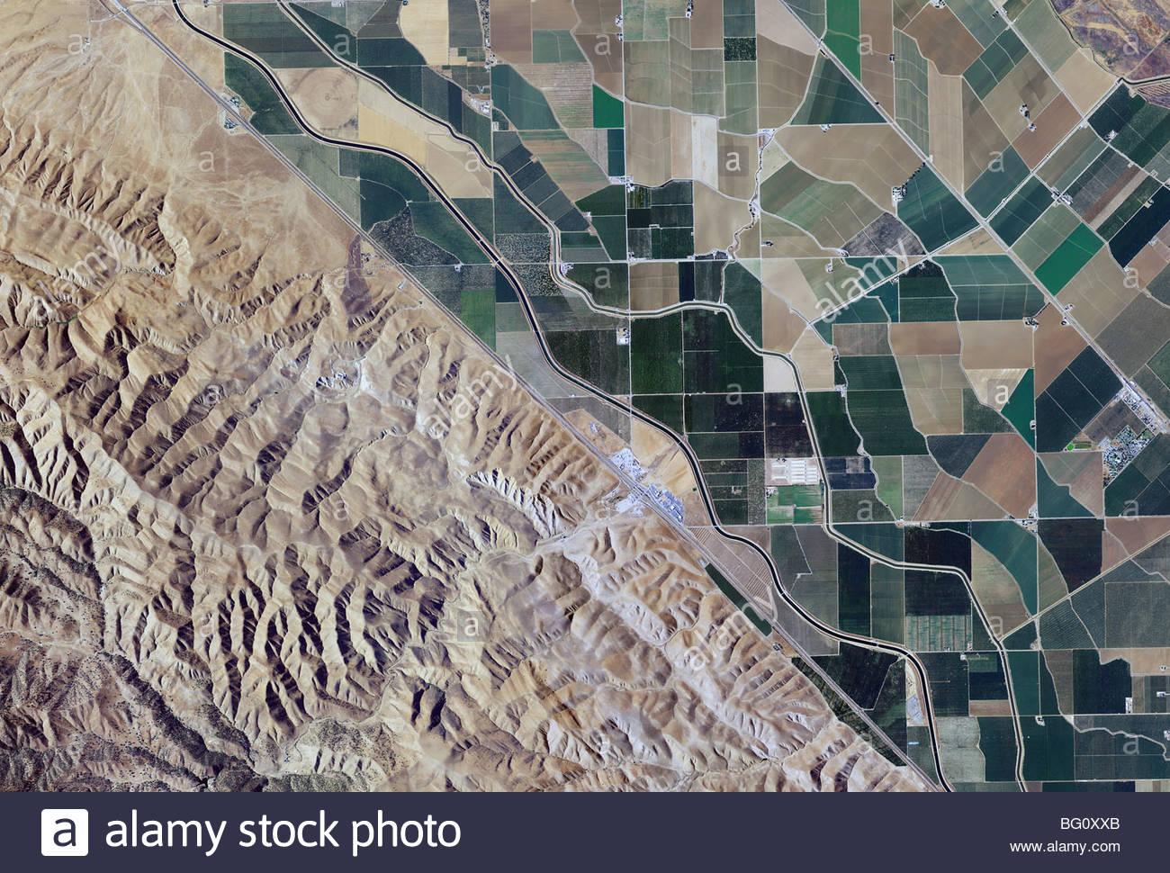 Clipart aqueducts of california map jpg free California Road Map Stock Photos & California Road Map Stock ... jpg free
