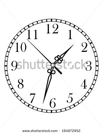 Clipart arabic clock clipart transparent download Arabic Numbers Stock Images, Royalty-Free Images & Vectors ... clipart transparent download