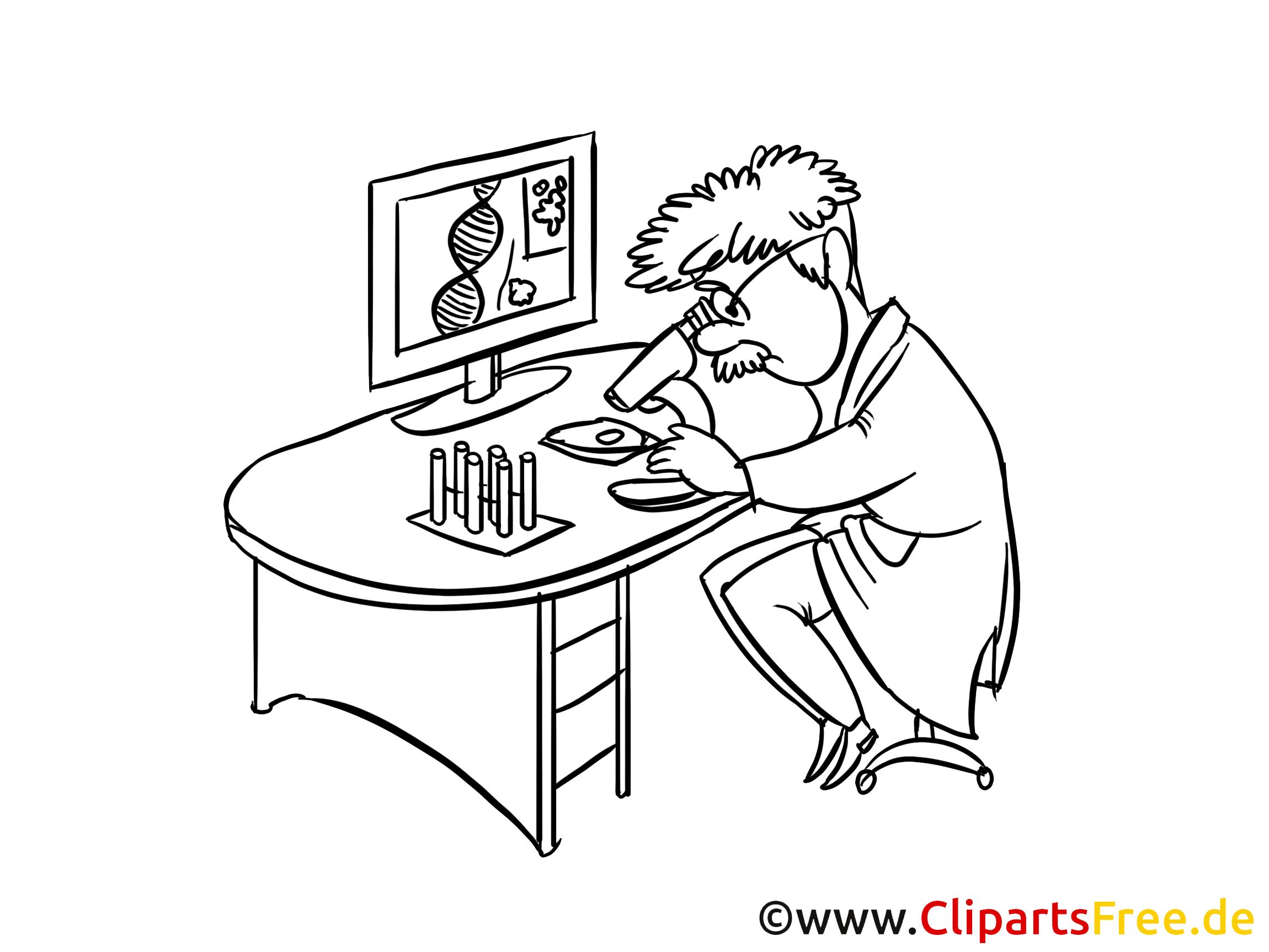 Clipart arbeit png free stock Arbeit im Medizinlabor Clipart, Zeichnung, Bild png free stock