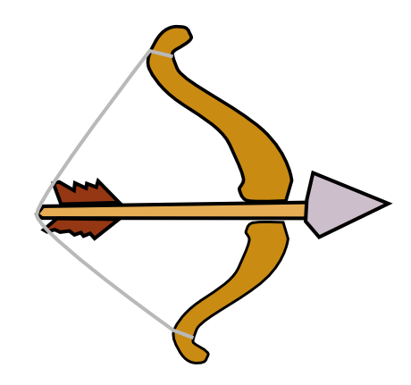 Clipart archery arrow png library 13+ Clipart Bow And Arrow | ClipartLook png library