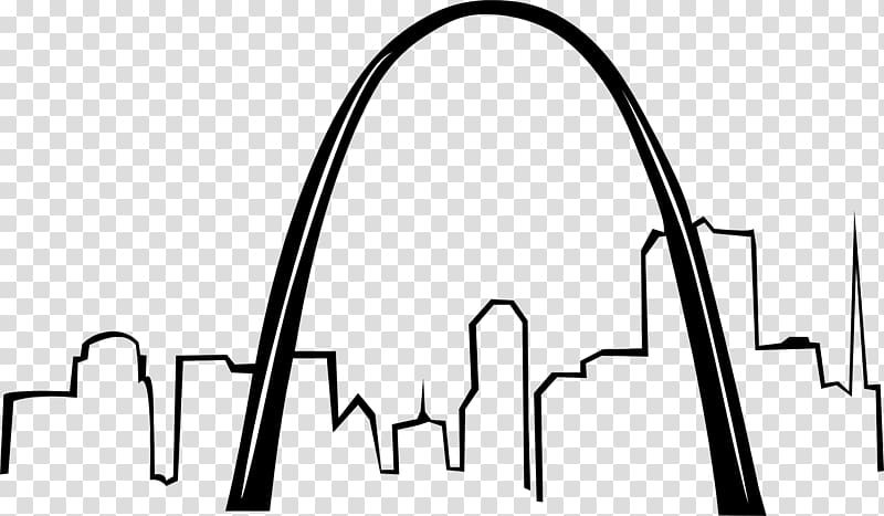 Clipart arches banner stock Gateway Arch National Park Drawing , arches transparent background ... banner stock