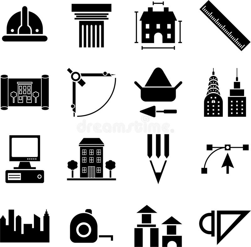 Clipart architectural symbols image royalty free stock Architectural Icons Clipart & Free Clip Art Images #15336 ... image royalty free stock