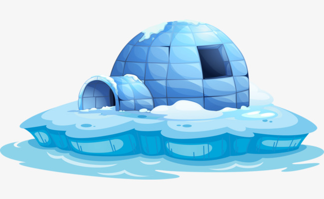 Clipart arctic igloo picture royalty free stock Download Free png Arctic Igloo, Igloo Clipart, Ice, Arctic PNG Image ... picture royalty free stock