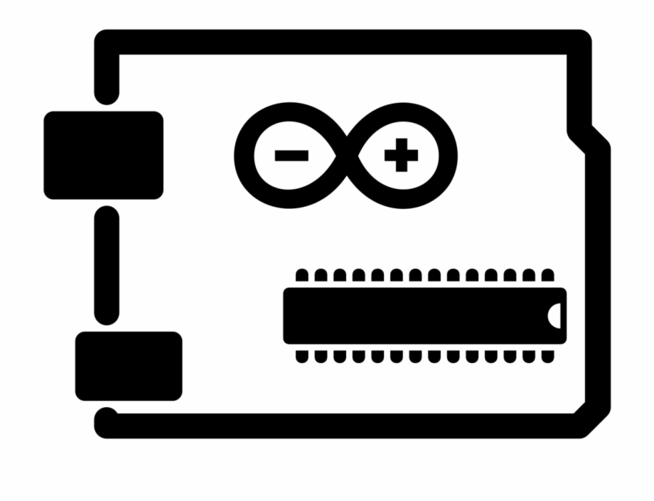 Clipart arduino vector transparent Arduino Vector Black And White - Arduino Icon Free PNG Images ... vector transparent