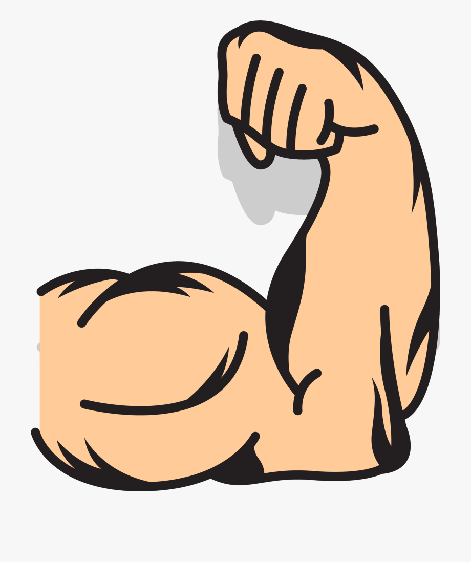 Clipart muscles vector library Download Muscles Clipart Muscled Arm And Use For You - Arm Muscle ... vector library