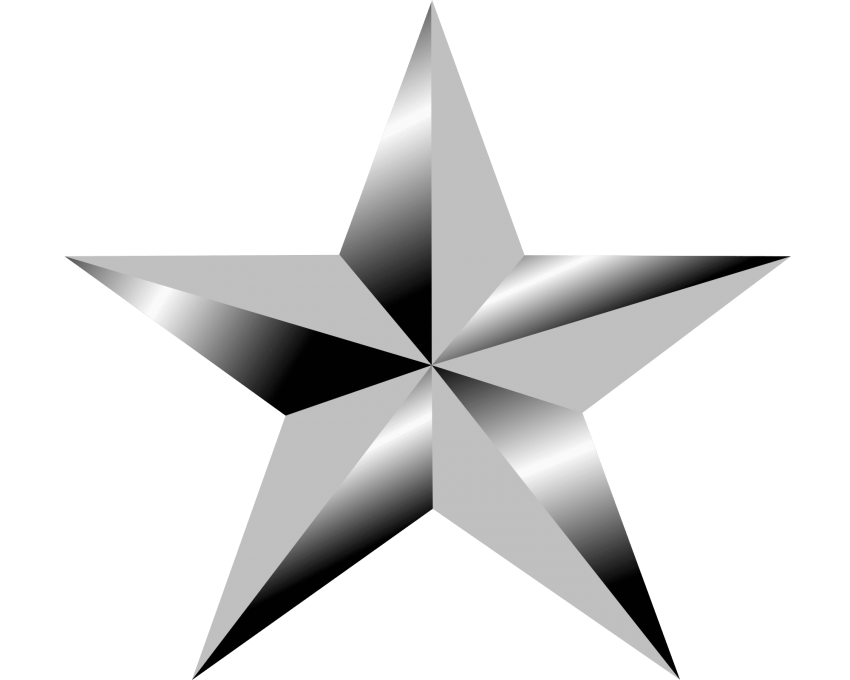 Clipart army silver star picture royalty free silver star png - Free PNG Images | TOPpng picture royalty free
