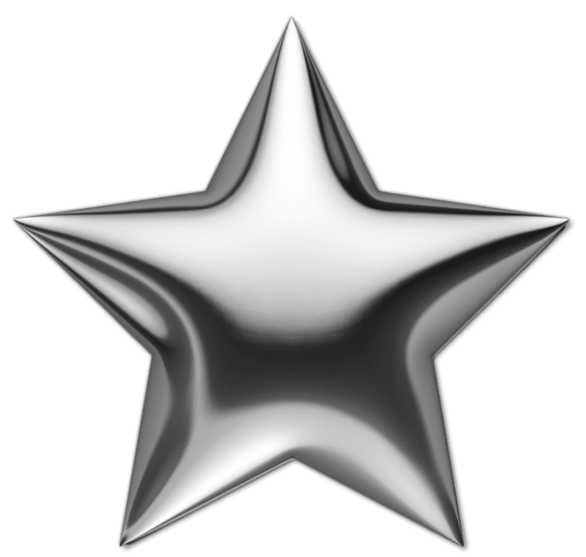 Clipart army silver star png black and white library silver star png - Free PNG Images | TOPpng png black and white library