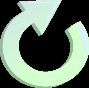 Clipart arrow circle. Round clockwise clip art