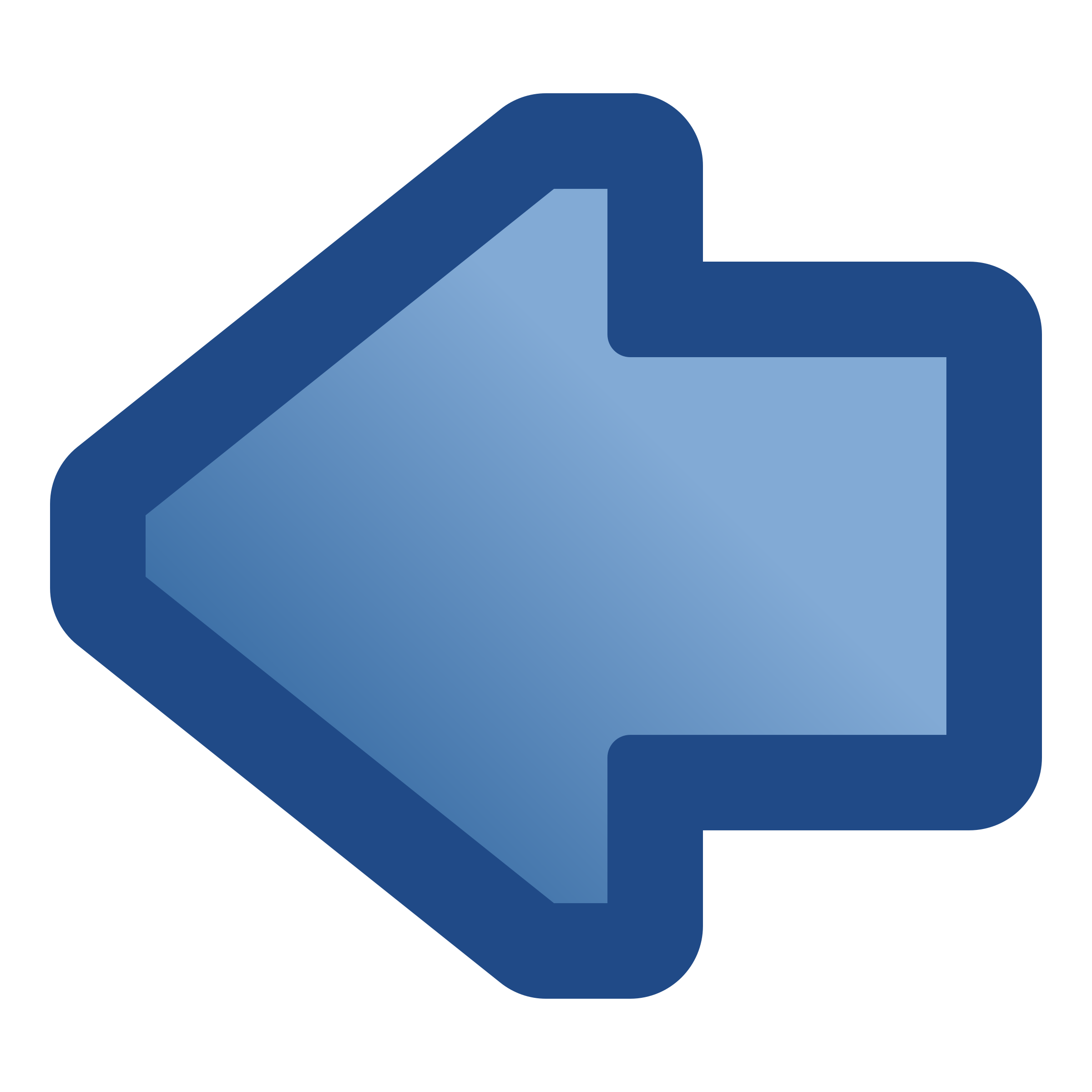 Arrow to the left clipart png transparent Clipart - icon-arrow-left-blue png transparent