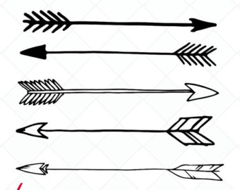 Indian arrow clipart black and white image freeuse download White Arrow Clipart | Free download best White Arrow Clipart on ... image freeuse download