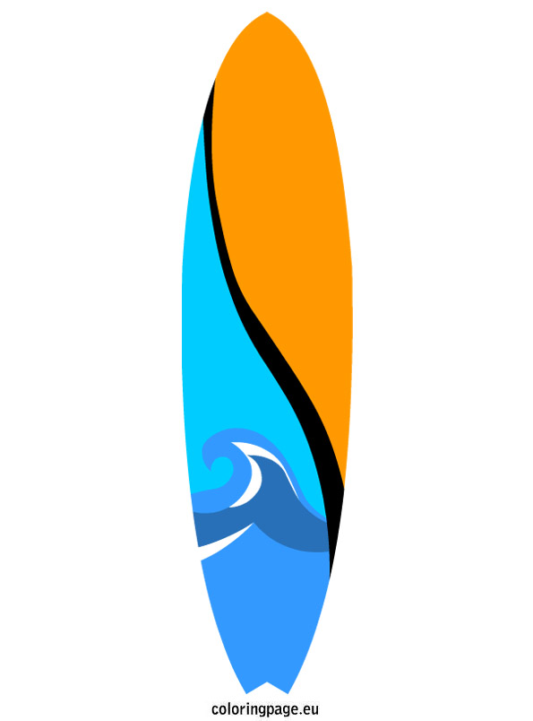 Clipart arrow made from surfboard png download Clipart surfboard - ClipartFest png download
