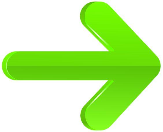 Clipart arrow png transparent banner royalty free Arrow Right Green PNG Transparent Clip Art Image | arrow ... banner royalty free