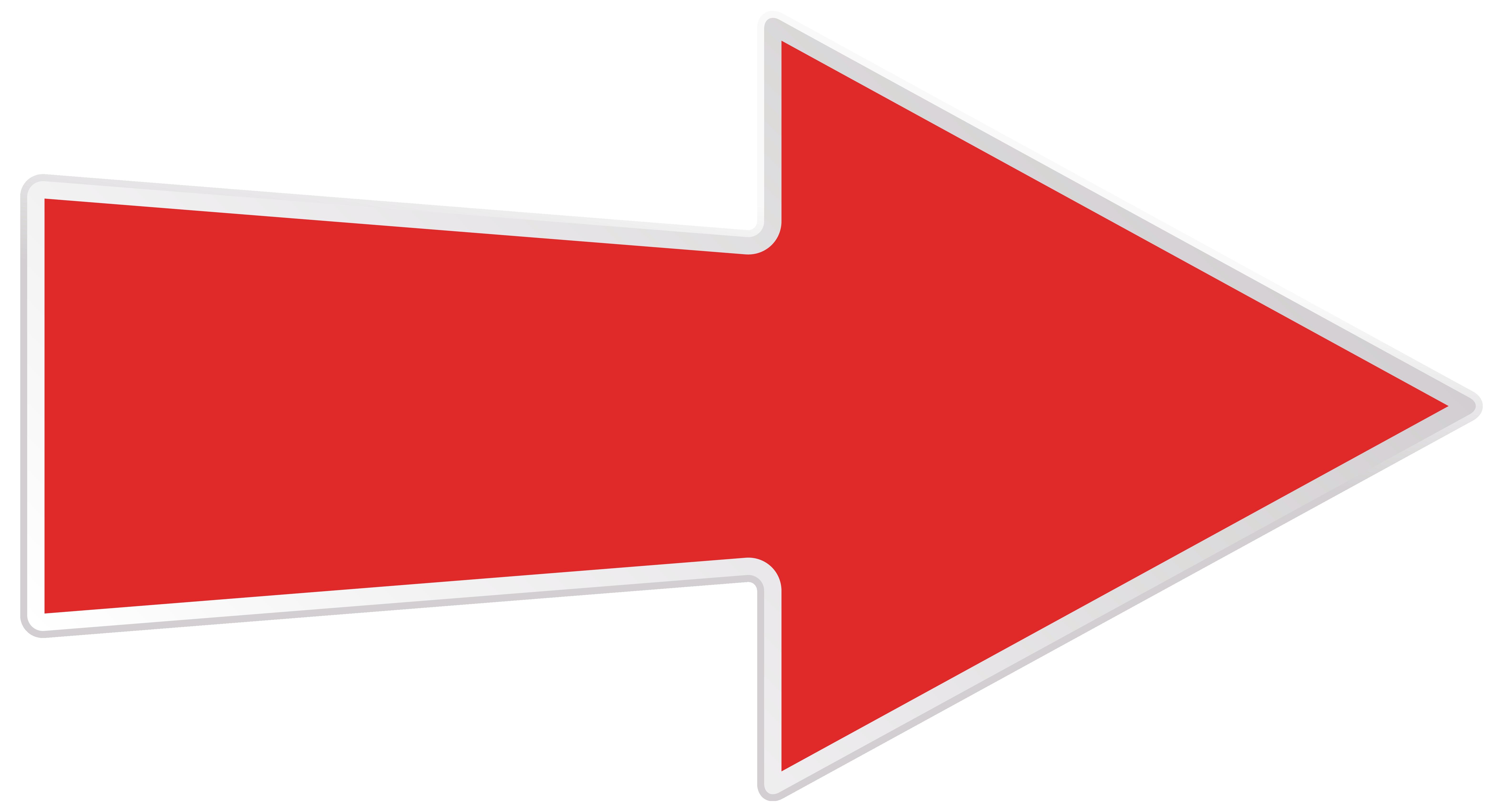 Clipart arrow png transparent image transparent stock Red Right Arrow Transparent PNG Clip Art Image image transparent stock