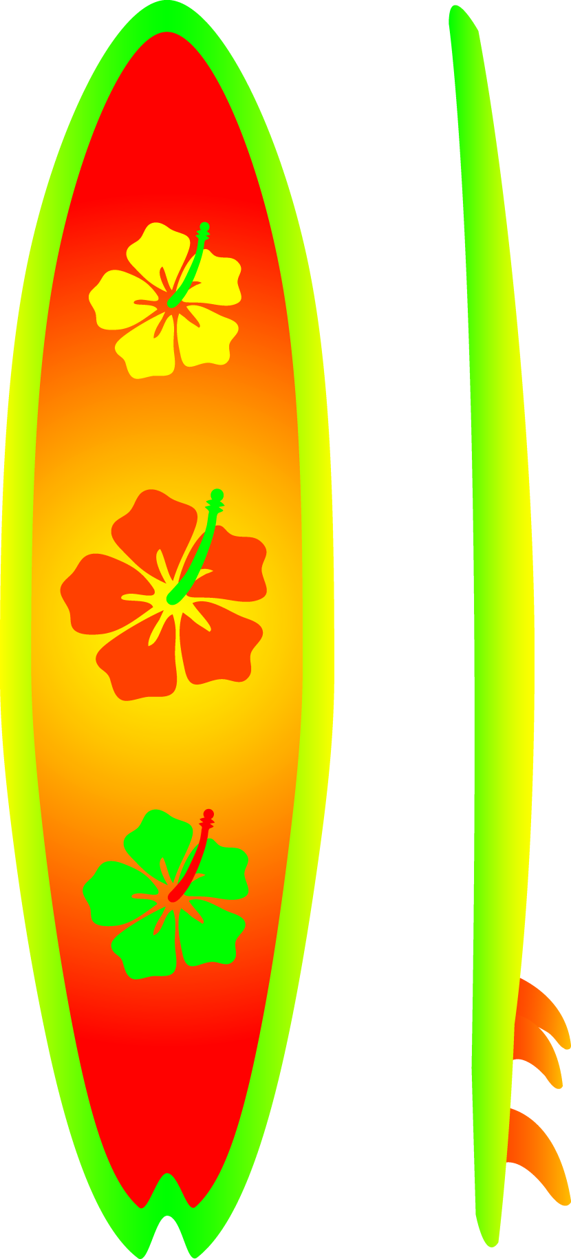 Surfboard with transparent background clipart graphic download Clipart arrow surfboard - ClipartFest graphic download