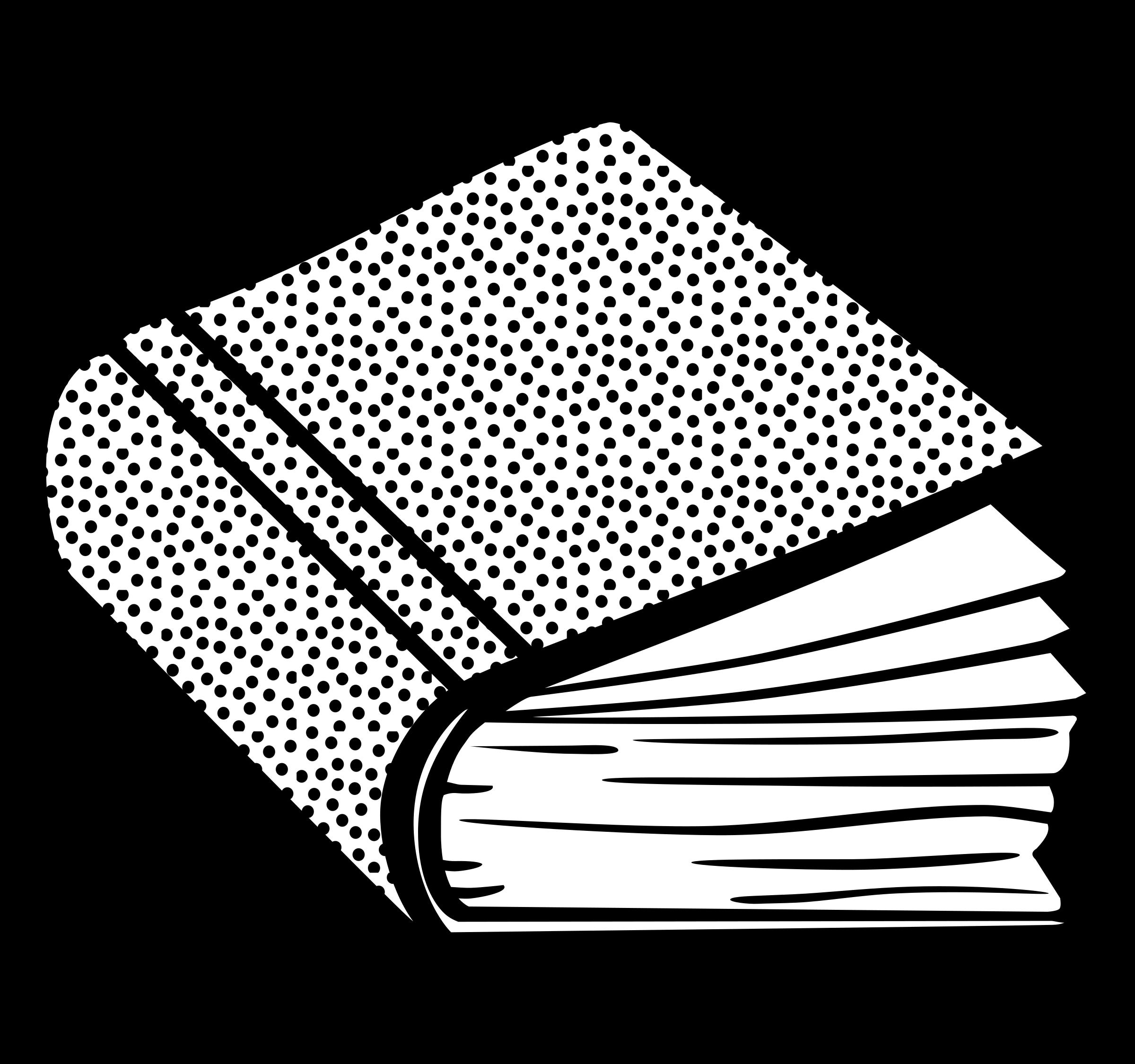 Clipart art book clipart download Clipart - book - lineart clipart download
