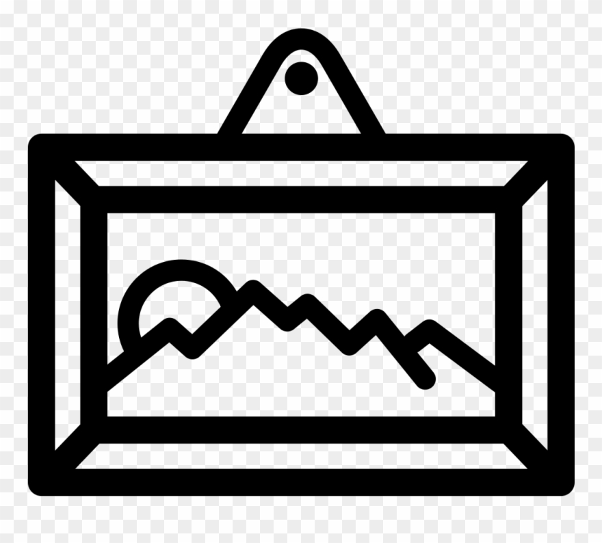 Gallery icon clipart