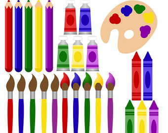 Got supplies for the art room clipart banner library stock Free Images Of Art Supplies, Download Free Clip Art, Free Clip Art ... banner library stock