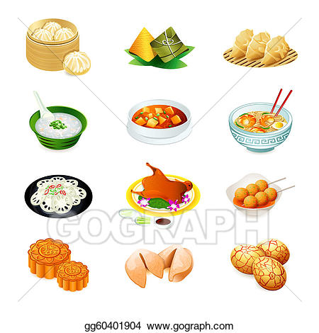 Clipart asian food