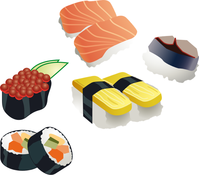 Buffers in clipart vector library library Asian Food Clipart vector library library