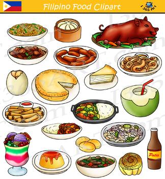 Clipart asian food image transparent download Filipino Food Philippines Asian Food Clipart image transparent download