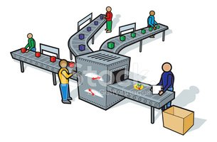 Clipart assembly line svg freeuse Assembly Line stock vectors - Clipart.me svg freeuse