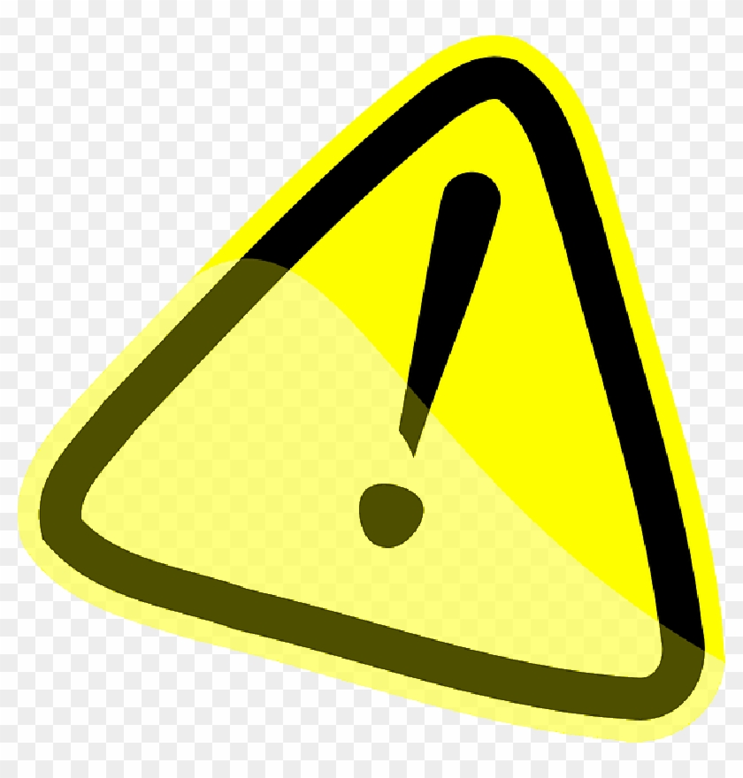 Caution icon clipart svg Caution Warning Yellow Attention Exclamation Mark - Warning Sign ... svg