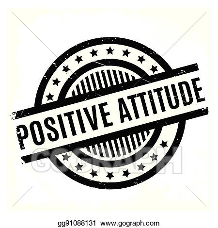 Clipart attitude text effects banner royalty free library Clip Art Vector - Positive attitude rubber stamp. Stock EPS ... banner royalty free library