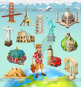 clipart tourist attractions travel attraction eps icon vector library