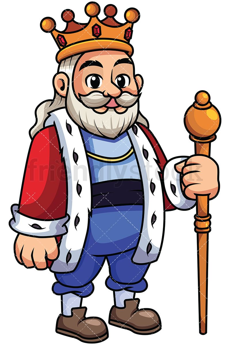 Clipart authority picture freeuse stock Old And Wise King Holding Sceptre | Henk coat | King, Clip art, Old king picture freeuse stock