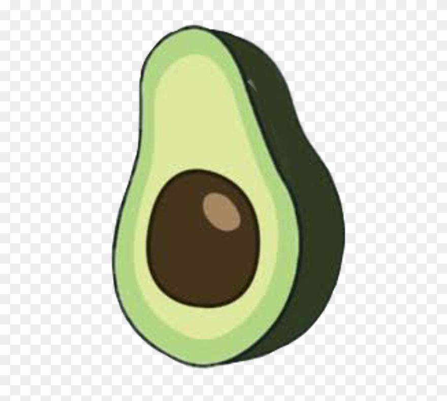 Clipart avocado picture transparent Aesthetic Avocado Png Clipart (#3208258) - PinClipart picture transparent